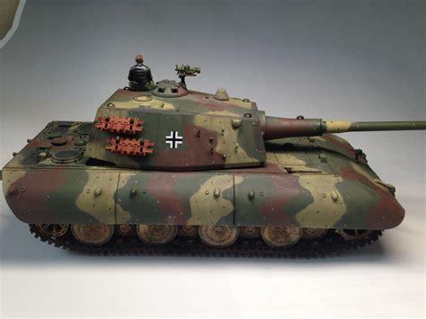 fb e100 built 1 35 e100 german heavy tank with one crew figure