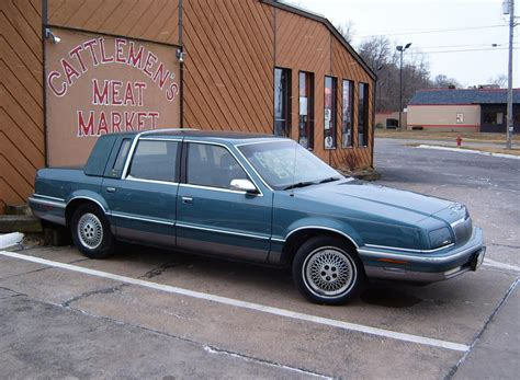 1992 Chrysler New Yorker 1992 chrysler new yorker information and photos