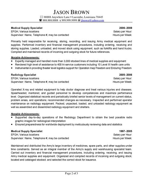 logistics management specialist resume the best in writing federal resumes