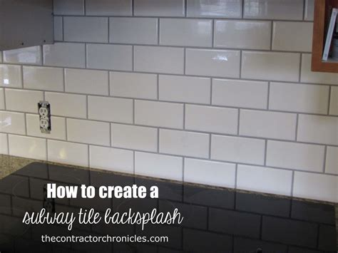 what is subway tile how to create a subway tile backsplash the contractor