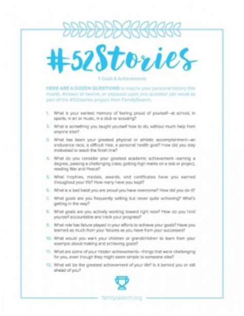 personal financial and social new year s resolutions for write your story in 2017 familysearch 52stories