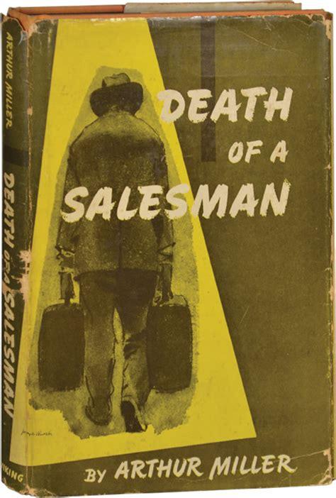 death salesman by miller abebooks death of a salesman arthur miller first edition