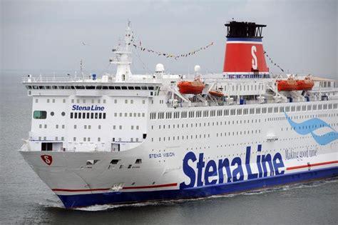 Stelan Linesa stena line ferry port gdynia arrival