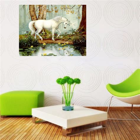 30x56cm diy unicorn diamond painting embroidery home decor 30x40cm unicorn 5d diy diamond painting kit cross stitch