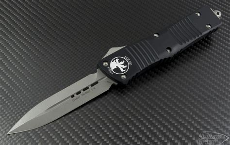 microtech automatic knife microtech knives combat troodon d e automatic otf d a