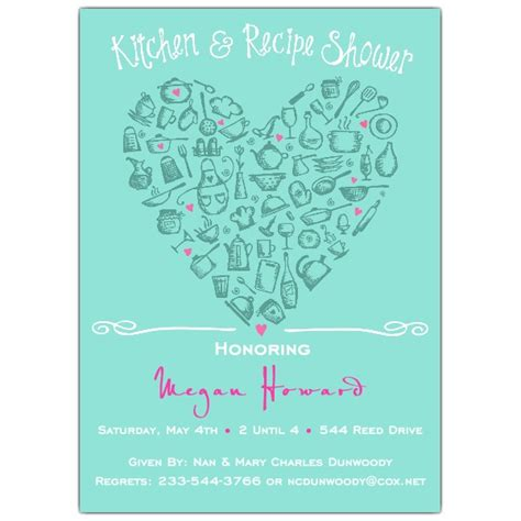 Kitchen Bridal Shower Invitations by Bridal Shower Invitations Bridal Shower Invitations Kitchen