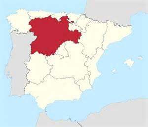 Leon Spain Map by File Castilla Y Leon In Spain Svg Wikimedia Commons
