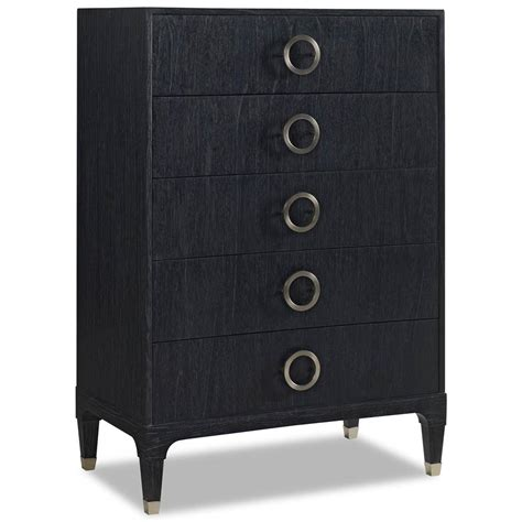 modern black dressers cheap haiden modern classic black onyx steel 5 drawer tall dresser