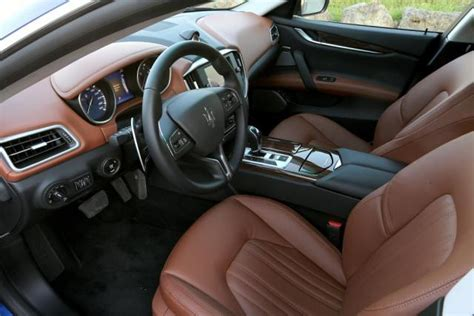 Picture Other Maserati Ghibli Interior Brown Leather 05 Jpg