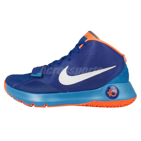 kevin durant shoes size 3 nike kd trey 5 iii ep blue orange kevin durant mens