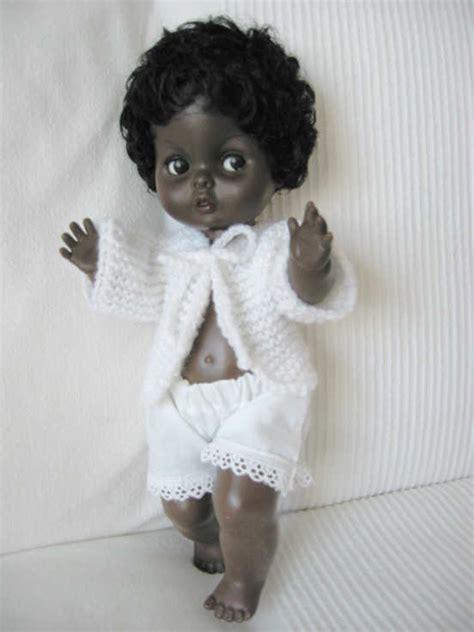 black doll 1960 doll collection hallmark dolls