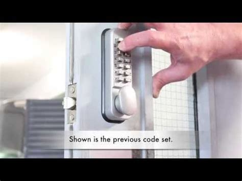How To Change Door Code by Changing The Code On A Digi Pad Lock