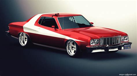 Ford Gran Torino Starsky And Hutch For Sale Ford Gran Torino Studio By Sergoc58 On Deviantart