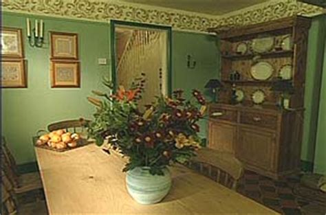 William Morris Green Dining Room by Homes Design Inspiration William Morris Dining Room