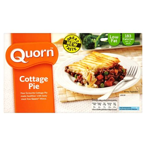Quorn Mince Cottage Pie by Ocado Quorn Cottage Pie 500g Product Information