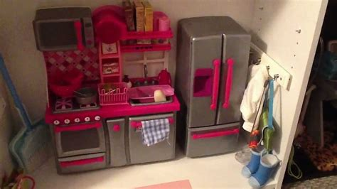 custom made american girl doll house tour of my american girl doll house made from bookcases youtube