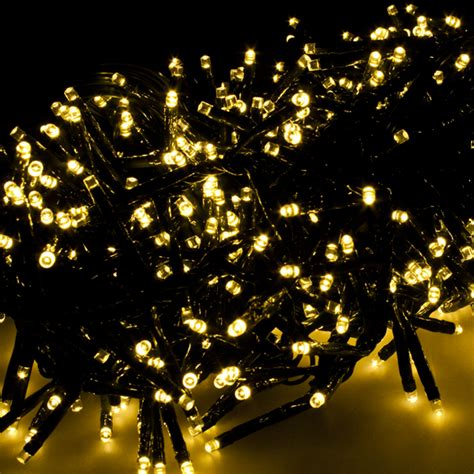 Outdoor Cluster Lights Premier 9 3m Length Of 720 Multiaction Warm White Outdoor Led Cluster Lights Green Cable