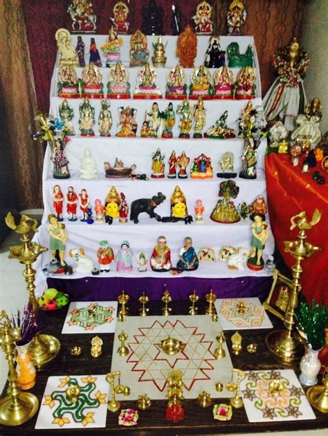 navratri decoration at home 17 best images about navaratri on the indians
