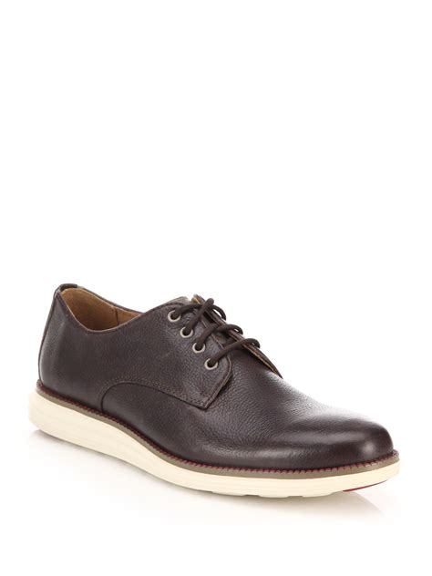 original oxford shoes cole haan original grand oxford shoes in brown for lyst
