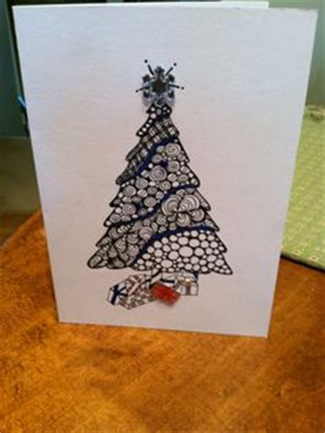 christmas zentangle ideas  pinterest christmas cards christmas ornament  ornaments