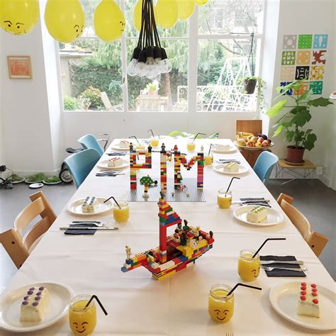 Holiday Home Interiors A Lego Party For Pim S 8th Birthday Babyccino Kids Daily