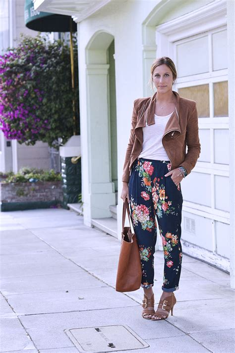 how to wear printed pantstrousers fall2013 pinterest fall trend trousers