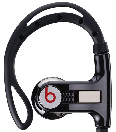Earphone Powerbeats beats by dr dre powerbeats in ear earphones black co uk electronics