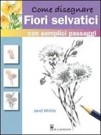 come disegnare fiori come disegnare fiori selvatici janet whittle