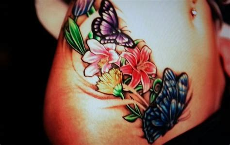 butterfly tattoo lower stomach butterfly tattoos on bottom google search inks