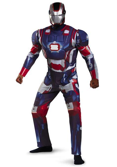 adult deluxe iron patriot costume ebay