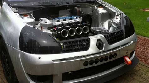 renault clio v6 engine bay itb d clio 182 engine bay
