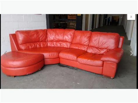 half moon leather sofa 163 1200 red leather half moon corner sofa we deliver uk wide