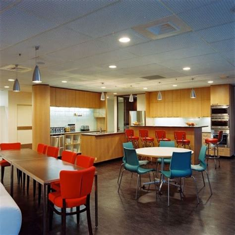 brake room a simple breakroom setup with colorful chairs awesome office breakrooms tables