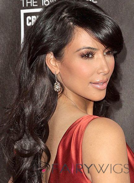 beautiful women hairstyle with sideburns cheap long black female celebrity hairstyle brown hair