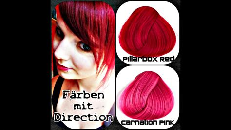 faerben mit direction pillarbox red carnation pink