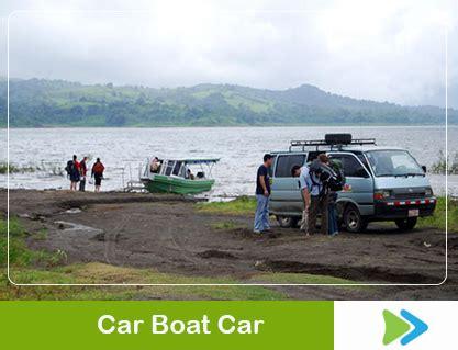 boat car in spanish arenal monteverde car boat car spanish costa rica guides