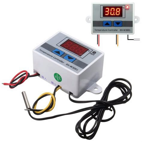 Thermostat Module With And Lower Limits Xh W1401 3pcs xh w3001 220v 10a digital display led temperature