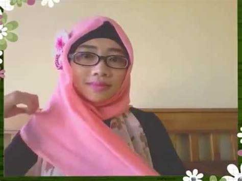 tutorial hijab paris kacamata tutorial paris segi empat simple elegan dengan kacamata