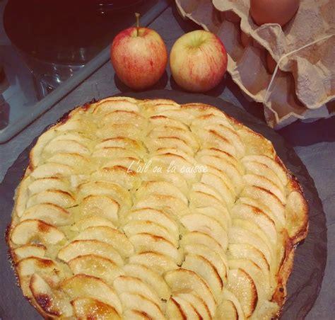 Ail Au Lit by Tarte L 233 G 232 Re Aux Pommes Sur Lit D Amandes L Ail Ou