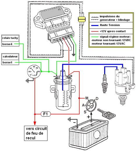 Relay Lu Isuzu 12 V schema relais tachymetrique 205 gti