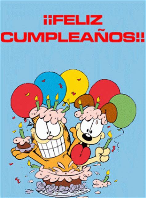imagenes divertidas de tortas de cumplea 241 os imagui garfield y odie te desean que pases un feliz cumplea 241 os