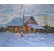 Oil Paintings Of Alaskan Landscapes By Artist Gene