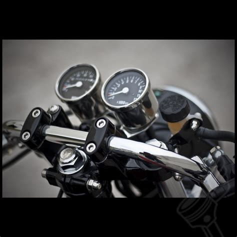 Mini Tacho Motorrad by 2 5 Quot Chrome Mini Kilometer Speedometer W Black Face