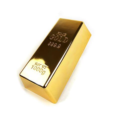 bullion desk gold lingote de oro pisapapeles o tope de puerta 1kg barra