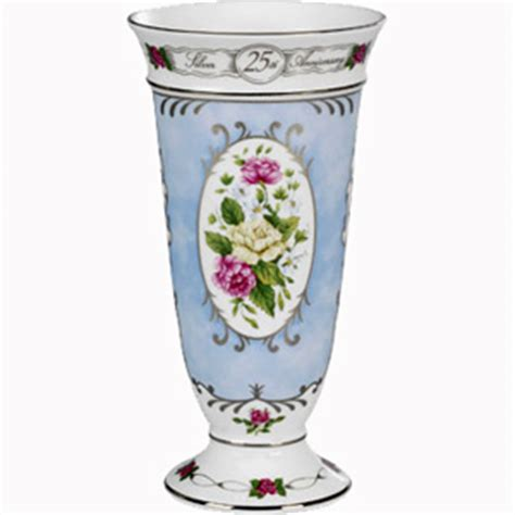 Wedding Anniversary Vase by 25th Silver Wedding Anniversary Vase Anniversary Gift