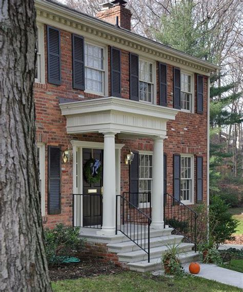 portico on colonial house river2 jpg 482 215 580 pixels portico project pinterest