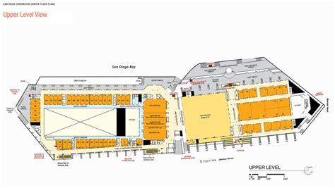 new orleans convention center floor plan san diego convention center floor plan best free