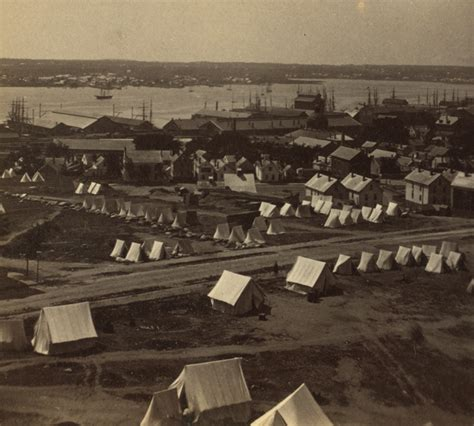 Sugarhouse Tent And Awning by Portland Before And After The Great Of 1866 The