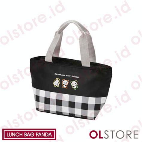 Sale Tas Kotak Mickey Lunch Bag Tas Bekal Hadiah Kado Souvenir jual bento tools lunch bag panda jual lunch bag panda jual tas makan bento panda