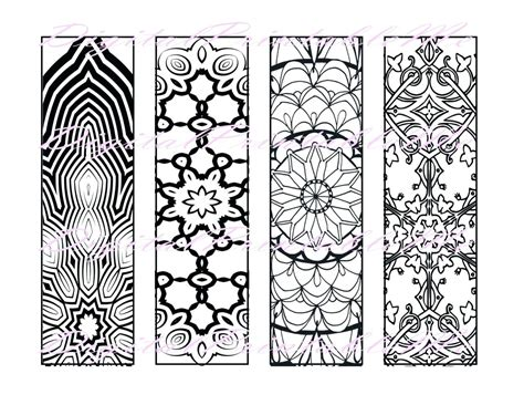 Coloring Page Bookmarks by Printable Printable Bookmarks